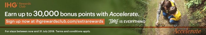 Earn up to 30,000bonus points with Accelerate.