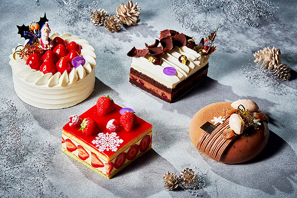 Christmas cakes and sweets collection 2019